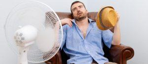 AC Blowing Hot Air