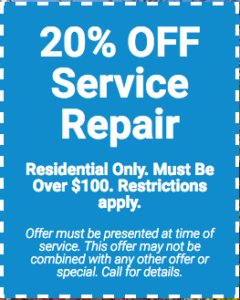 AC Service Repair Coupon Special Offer