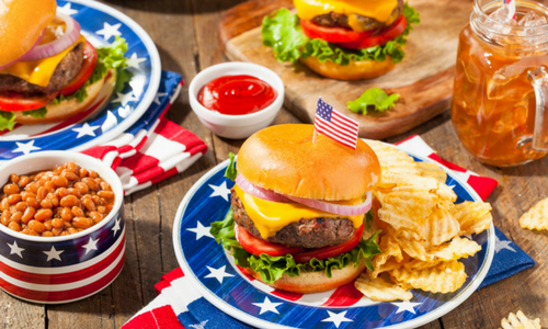 Patriotic foods for the Olympics 2016