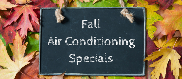 Fall Air Conditioning Specials