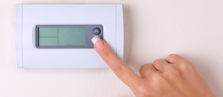 4 Reasons Your Thermostat is Blank